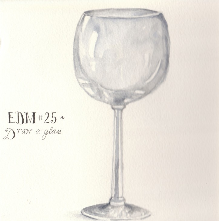 Edm 25 draw a glass a wine glass spinneretta flickr for How to draw on wine glasses