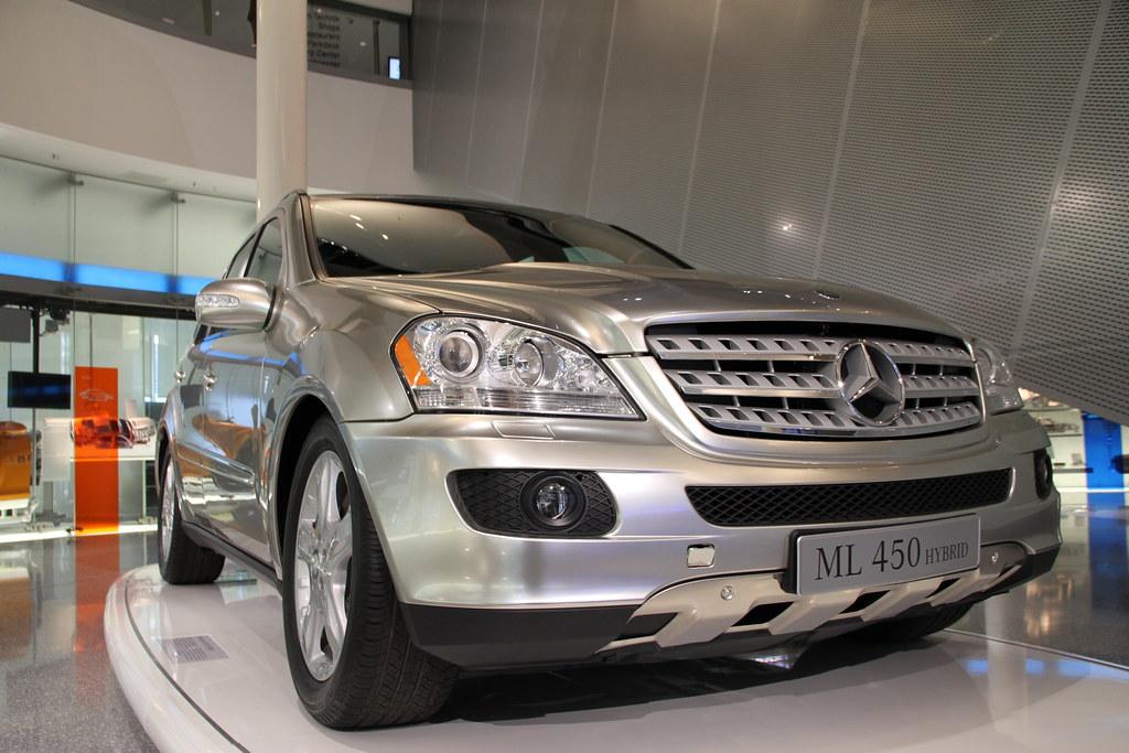 Mercedes benz ml 450 hybrid die gegenwart von mercedes for Mercedes benz ml 450