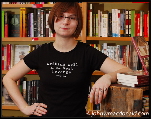 Jennifer Whiteford, Book Nerd Grrrl | by johnwmacdonald