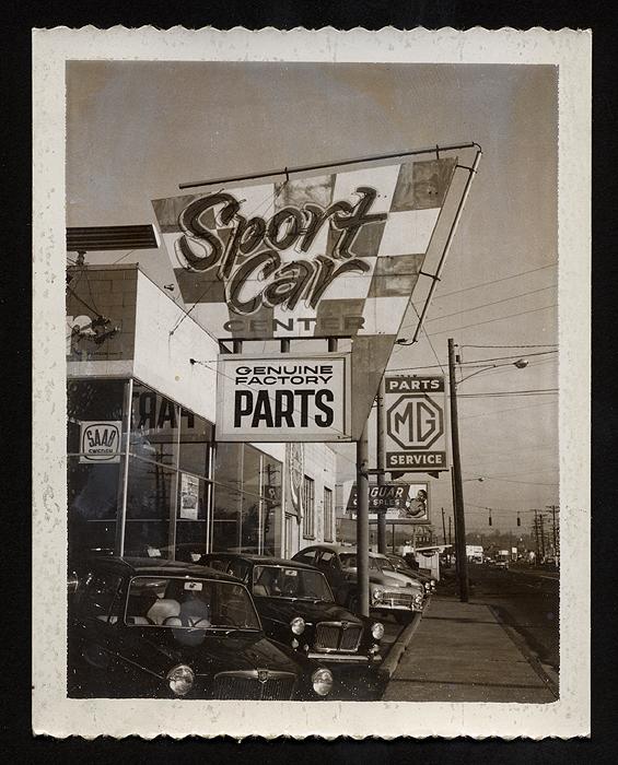 Sport Car Center, 1960's SAAB Dealership
