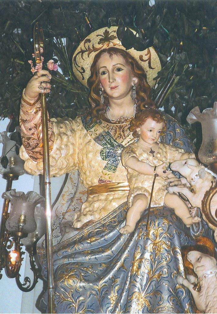 cinta de sexo Virgen disfraz en Sevilla
