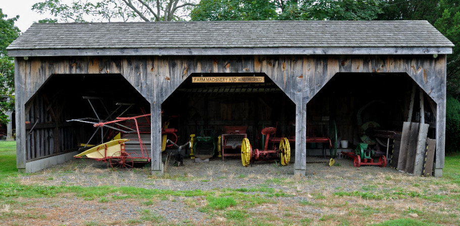 Farm equipment shed thomas p lang flickr for Equipment shed