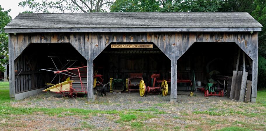 Farm Equipment Shed Thomas P Lang Flickr