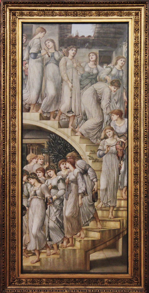 The Golden Stairs Edward Coley Burne Jones 1880 Tate Br Kotomi Flickr
