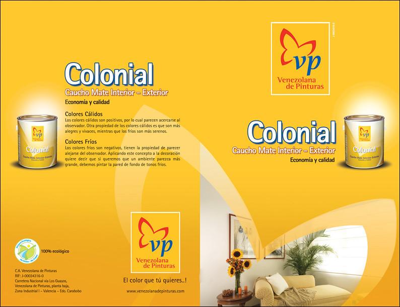 Carta de colores colonial vp tiro carta de colores - Colores pintura pared ...