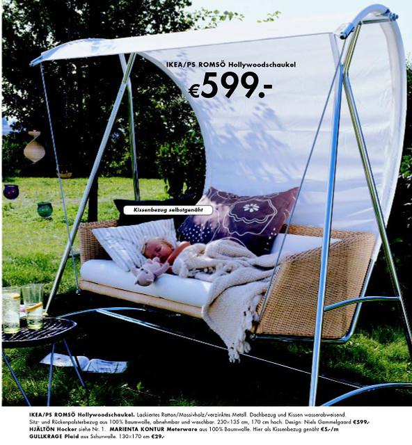 Ikea hollywoodschaukel romsö  Ikea Hollywoodschaukel Romsö: Svinga h?ngesessel braun von ikea ...