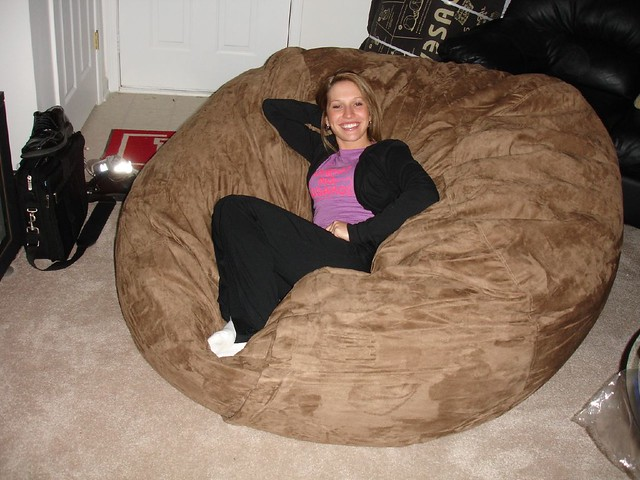 Amazing ... Huge Bean Bag Chair LoveSac Love Sac Comfy Sack Fombag | By ComfySacks