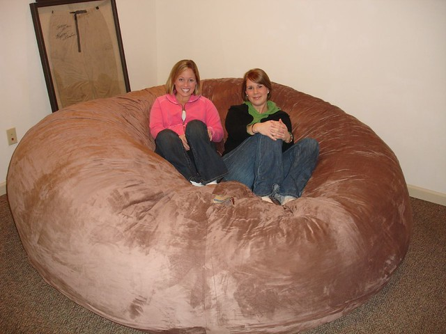 Wonderful ... Huge Bean Bag Chair LoveSac Love Sac Comfy Sack Fombag | By ComfySacks