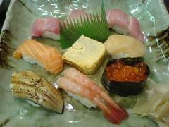 Assortiment de sushi | by clotilde