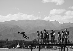 XXI century, Issyk-Kul lake. People learn to fly | by Andrei Shevelev