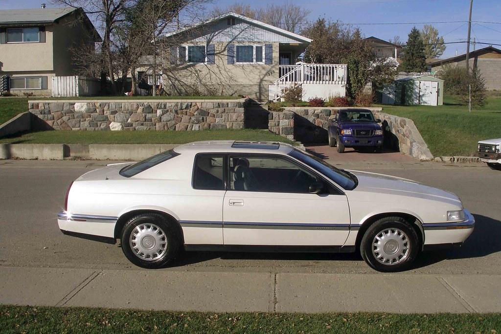 1992 Cadillac Eldorado TC passenger side | 92 ELDOradO TC ...