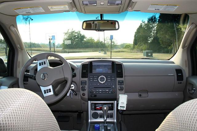 2008 Nissan Pathfinder SE - Interior | Russ Swift | Flickr