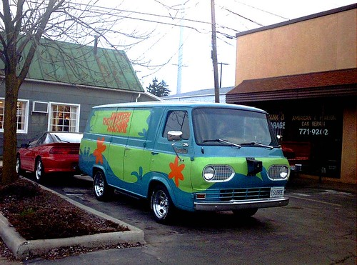 The Mystery Machine | by authorwannabe