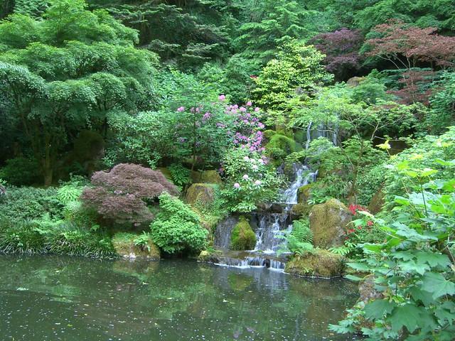 Portland Japanese Garden In Washington Park Mark Hogan Flickr