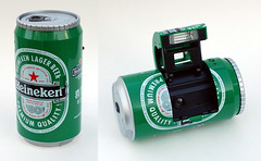 Ginfax Can Camera (Heineken) by John Kratz