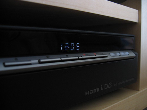 Sony DVD/HDD Recorder (Display and buttons) | by William Hook