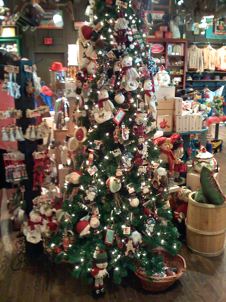 Things that are gay about Cracker Barrel | A Christmas Tree … | Flickr