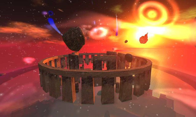 Stone henge in space spacehenge trp360 3d works for 3d outer space map