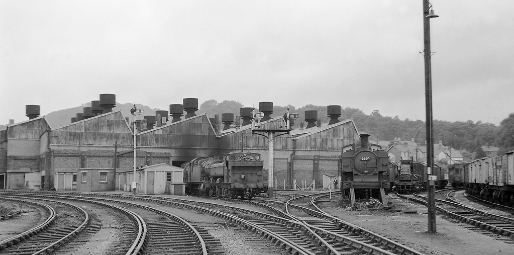 Tondu Steam Depot South Wales 1960 By John Wiltshire Flickr