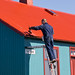 Iceland: Painting the Roof