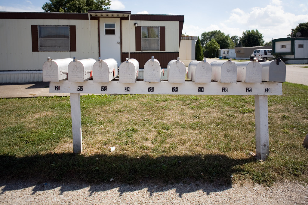 Elm Park Mobile Homes Mailboxes
