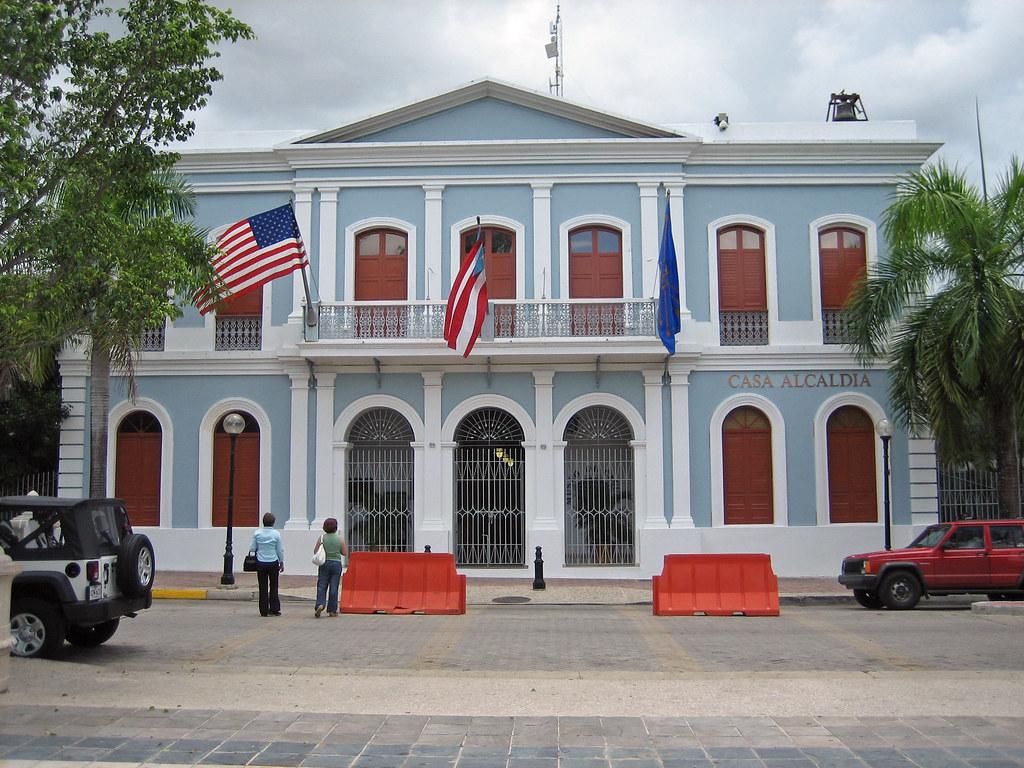 Caguas Puerto Rico Casa Alcalda City Hall Jose