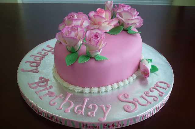 Happy Birthday Susan Cake