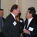 Richard Rush and Rudy Estrada at the Leadership Dinner