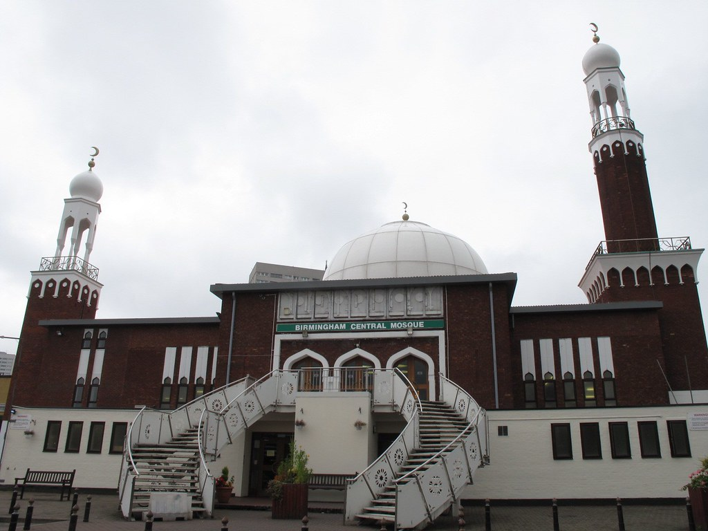 Image result for birmingham central mosque