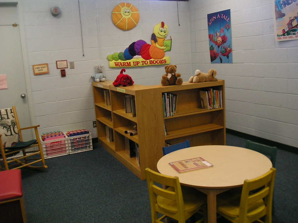 Gaithersburg Public Library Discovery Room