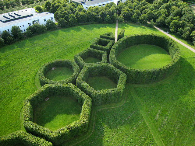 Geometric Garden at Herning The Geometric Gardens a