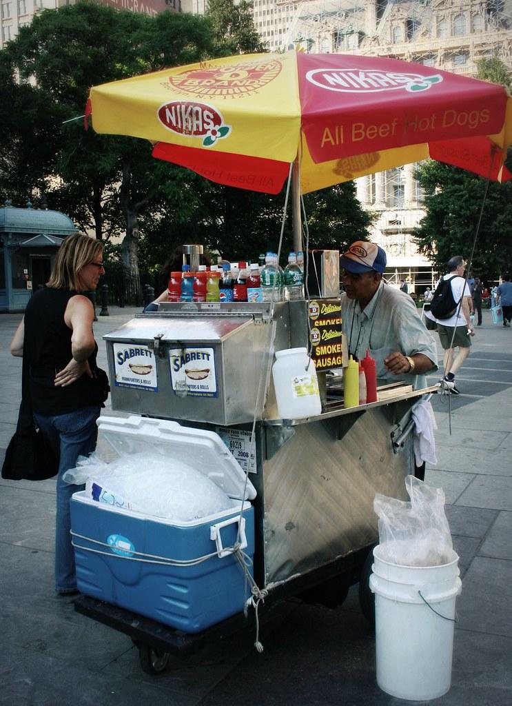 Hot Dog Vendors Toronto Wicket Park