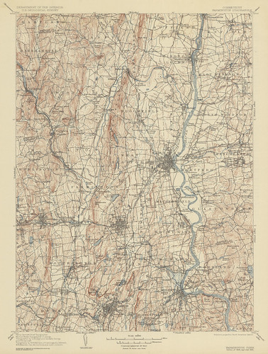 Farmington Quadrangle 1906 - USGS Topographic 1:125,000 | by uconnlibrariesmagic