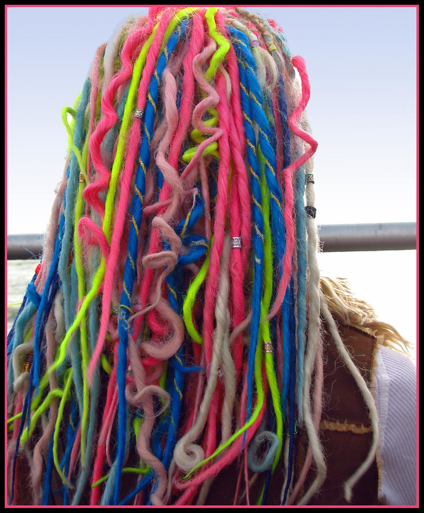 Crazy Multi Colored Hair
