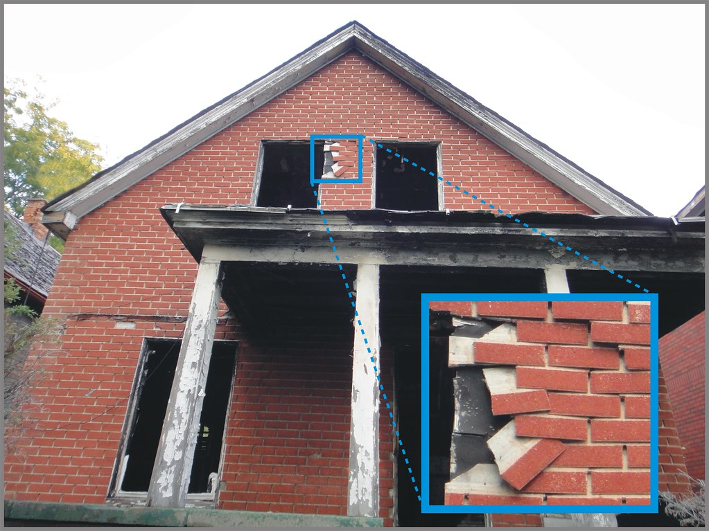 Brick Pattern Siding : Residential faux red brick asbestos siding from a
