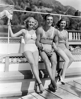 Betty Grable, Buster Crabbe and Eleanore Whitney | by Vintage-Stars