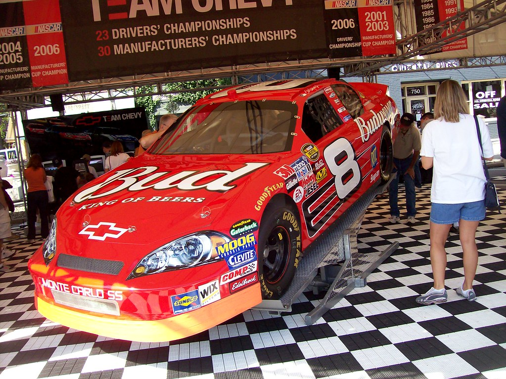 Dale Earnhardt Chevrolet >> The Dale Earnhardt Jr. #8 Budweiser Chevrolet Monte Carlo … | Flickr