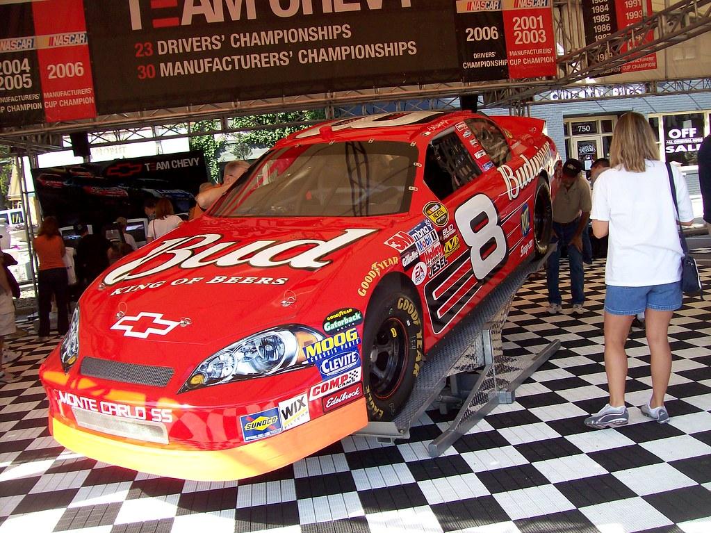 The Dale Earnhardt Jr. #8 Budweiser Chevrolet Monte Carlo ...