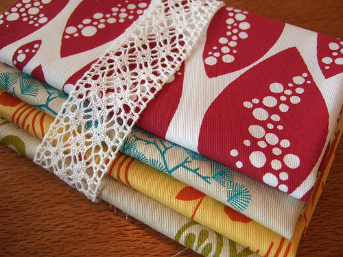 fabric mix packs | by birds & trees