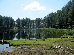 Lac de Crenu et refuge de Manganu