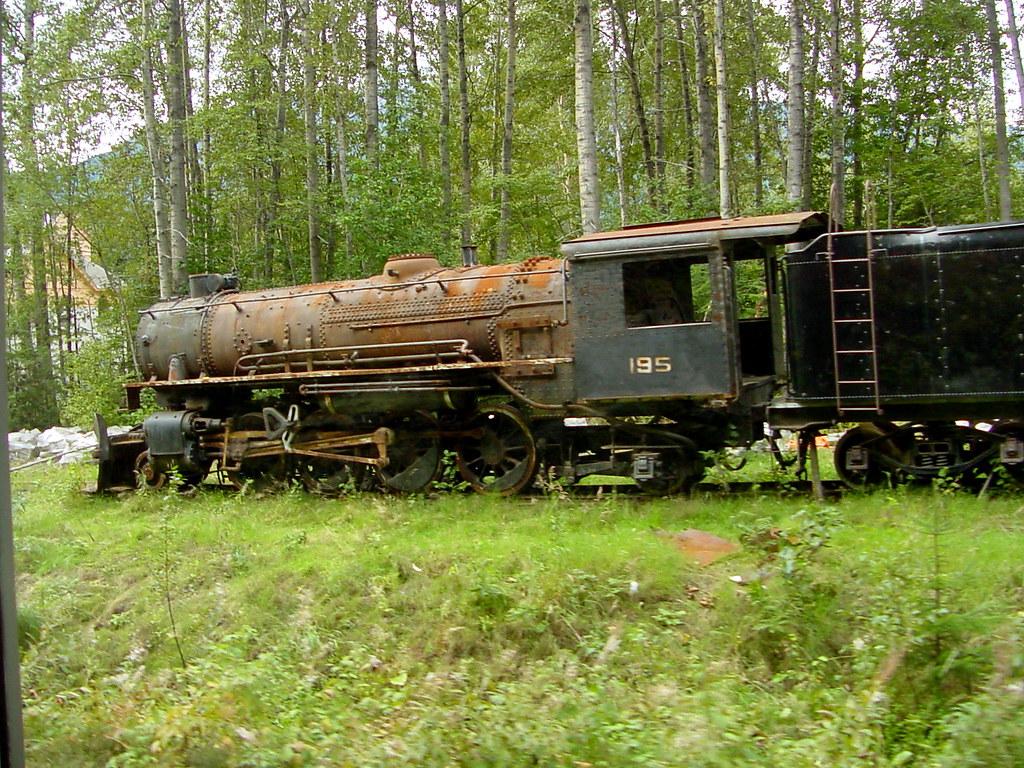 Abandoned Train Skagway Alaska This Old Steam Engine