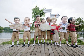 G8:  Lost tourists or powerful leaders? | by Oxfam International