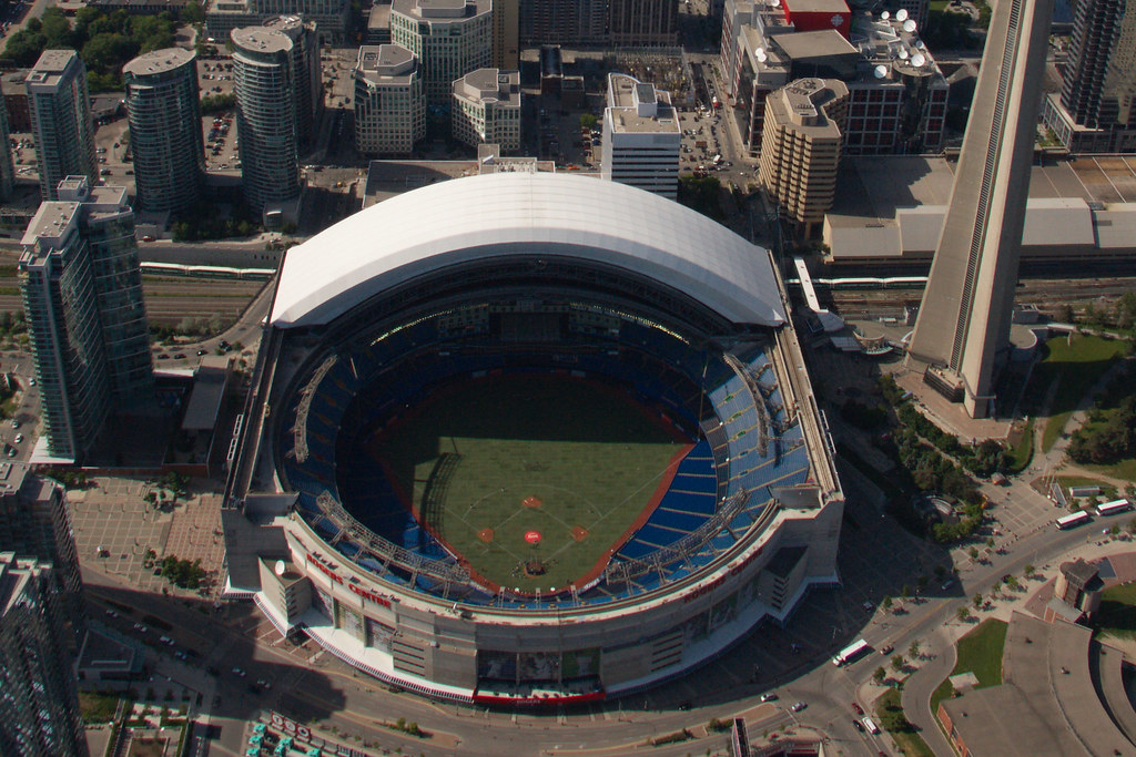 Rogers Centre Open Roof Tom Podolec Flickr
