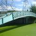 Footbridge and pylons