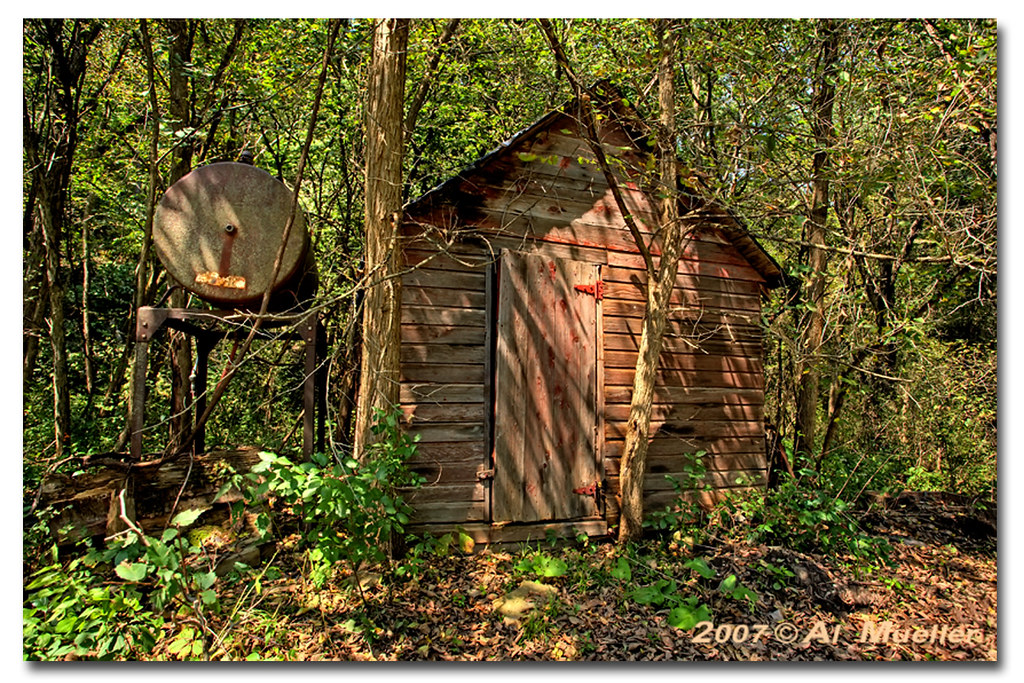 Old Tool Shed In The Woods Al Old Tool Shed In The Woods