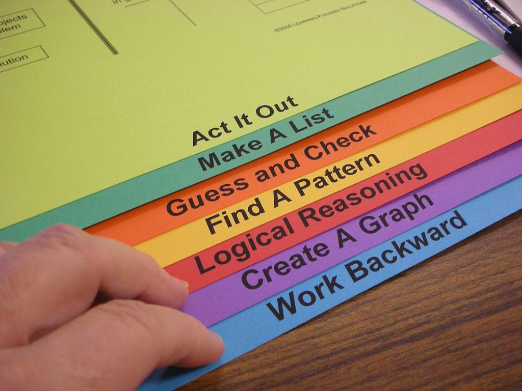 Math Worksheets Problem Solving Strategies 4th grade math – Math Problem Solving Strategies Worksheets