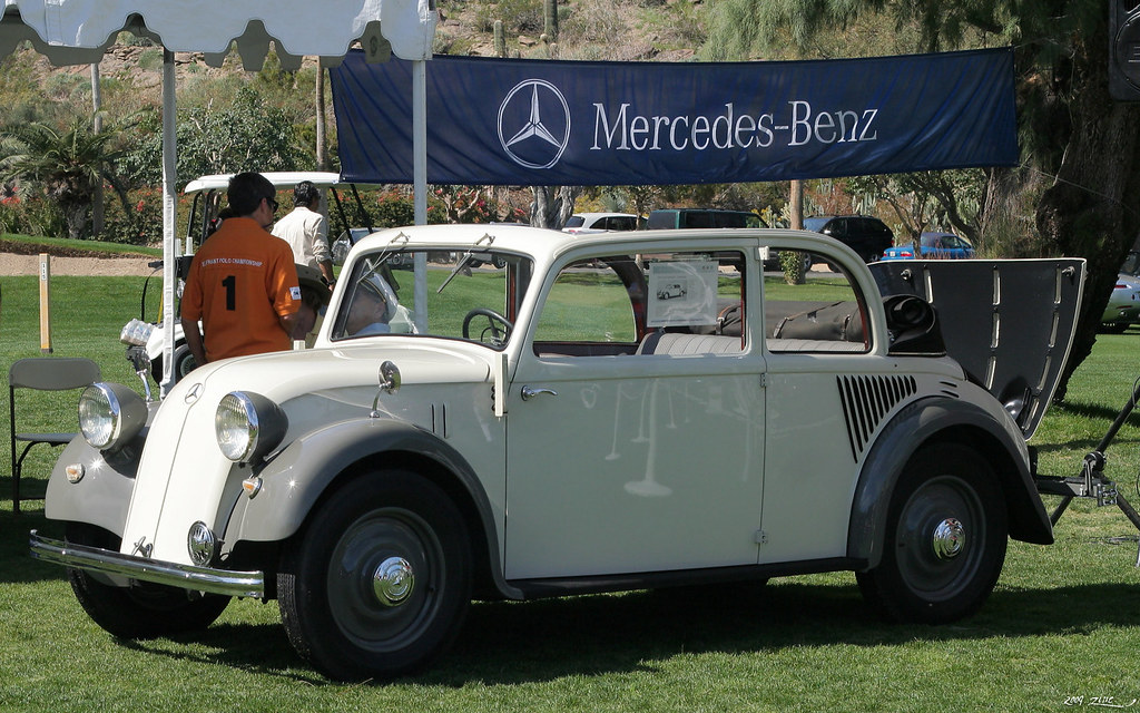 1935 mercedes benz 130 cabriolet limousine fvl palm for Mercedes benz palm desert