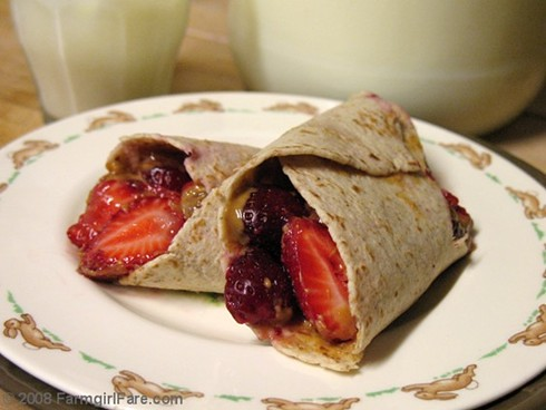 A Quick and Healthy Berry Good Breakfast | by Farmgirl Susan