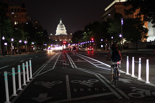 2010 06 23 - 1014 - Washington DC - Pennsylvania Ave Bike Lanes | by thisisbossi