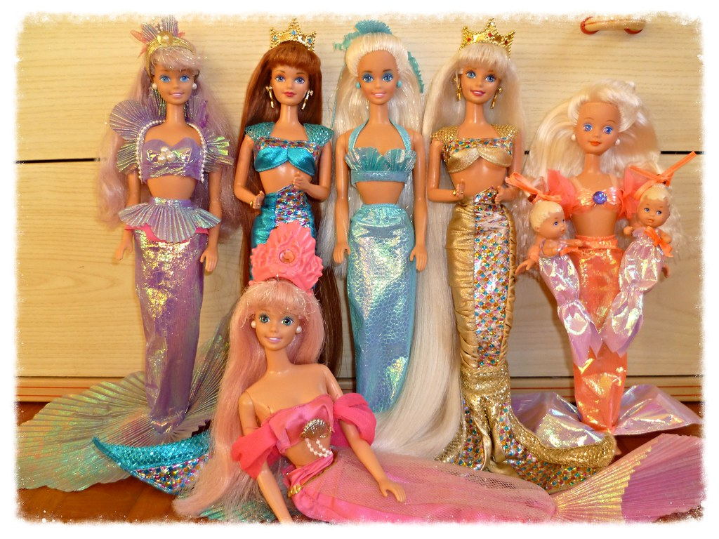 Barbies From The Early 90s 90s Barbie Dolls | Flickr
